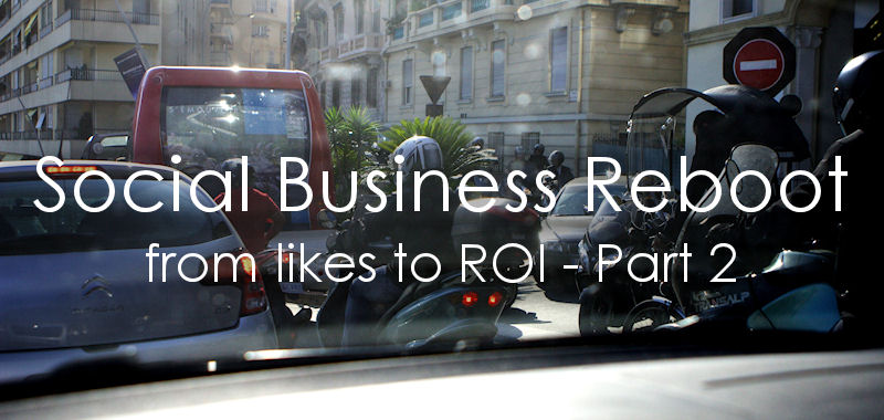 Reboot your social media program: from likes to ROI, part 2