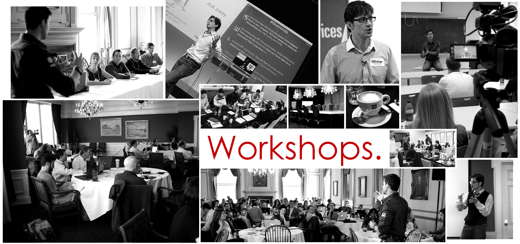 Web header workshops